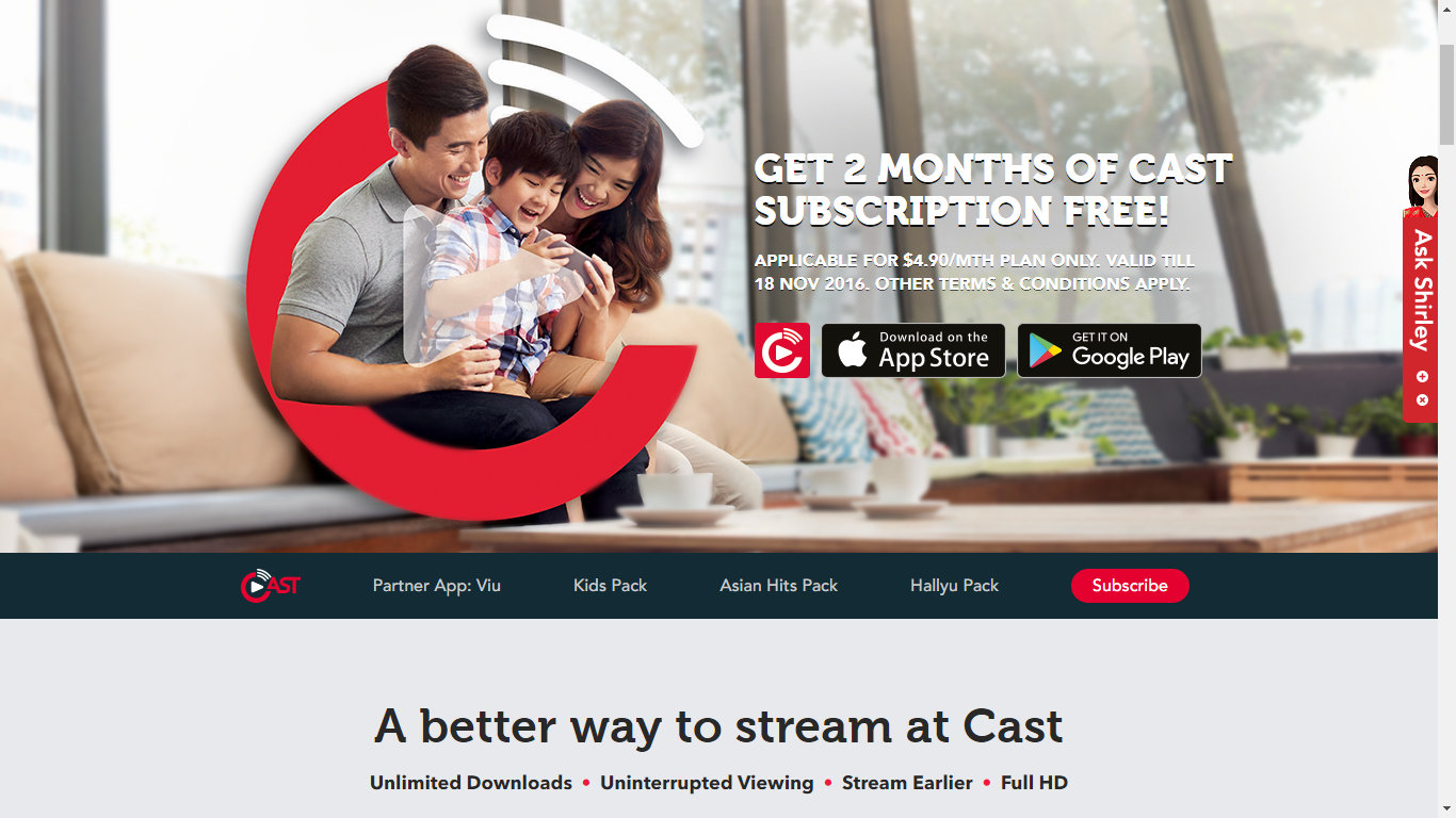 Singtel Cast - Ed Unloaded com | Parenting, Lifestyle
