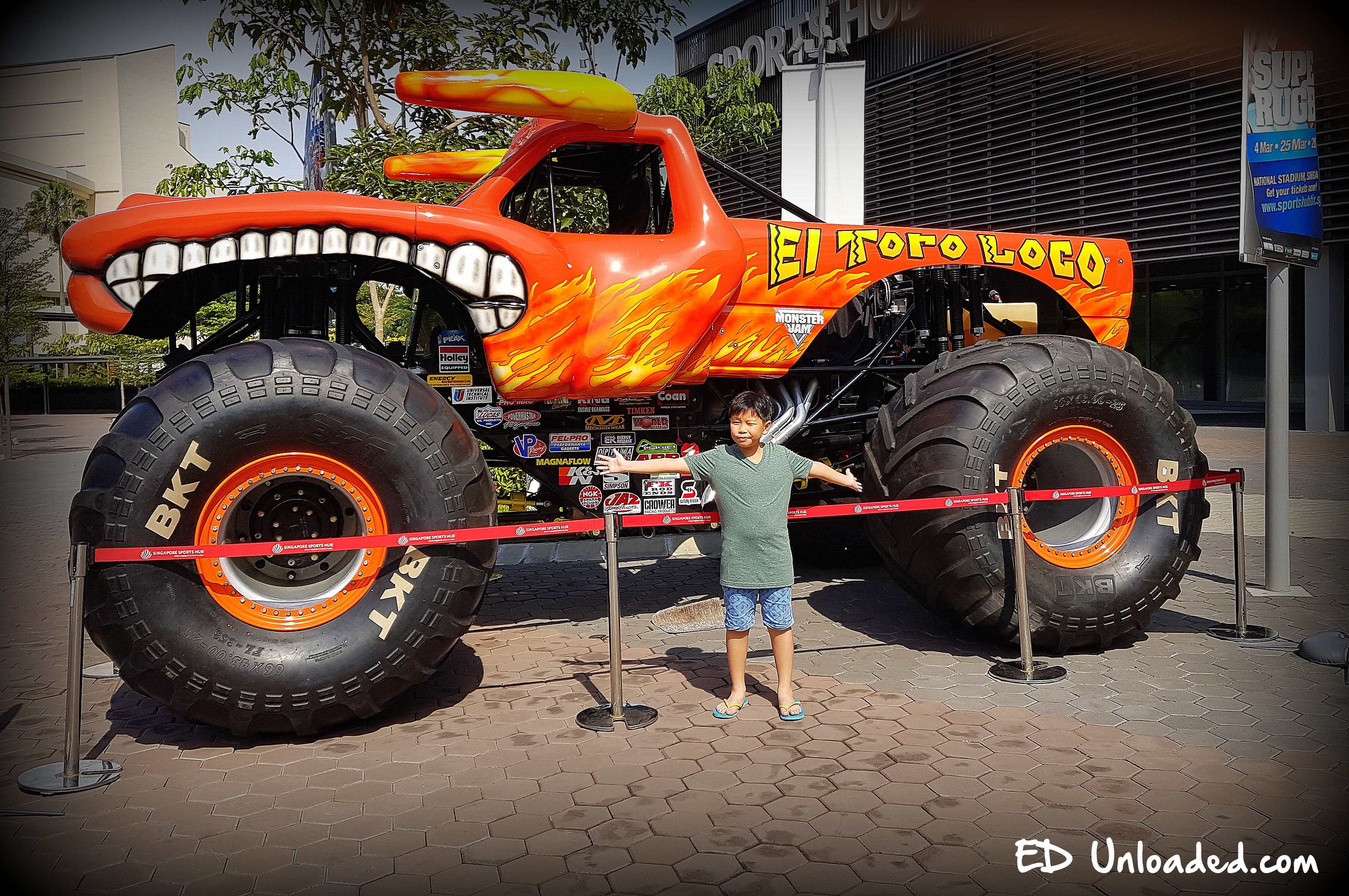 Monster Jam Singapore Giveaway Ed