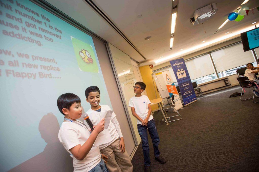 code campus presentation