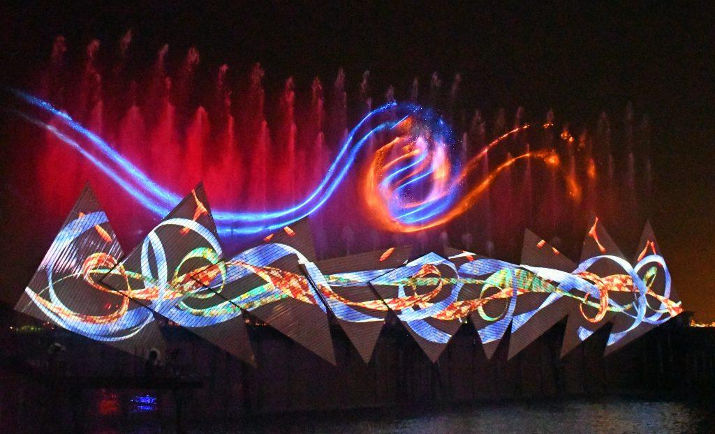 Sentosa Night show