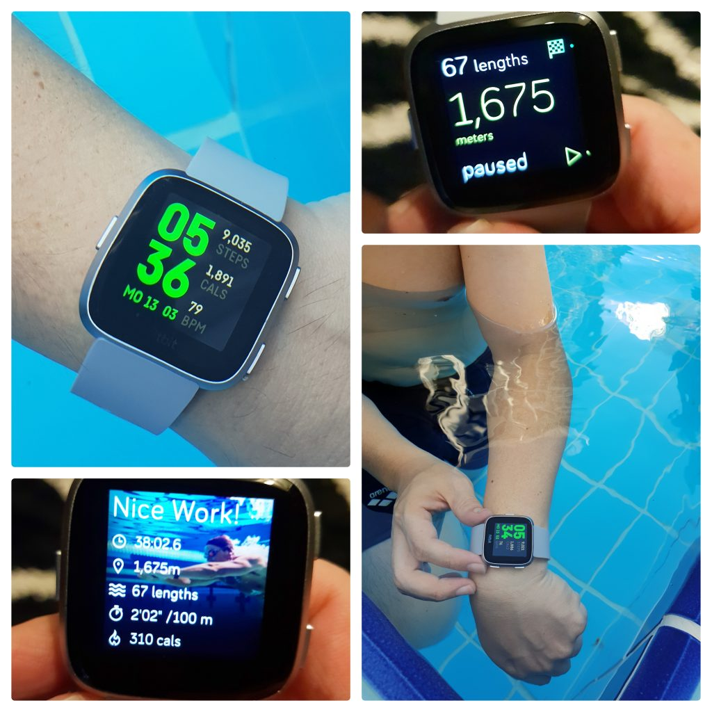 waterproof fitness watch