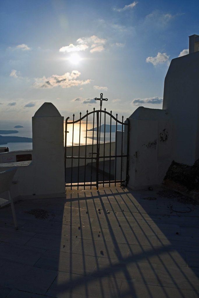 santorini gates