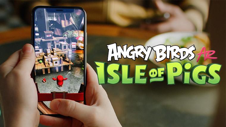 angrybirds ar
