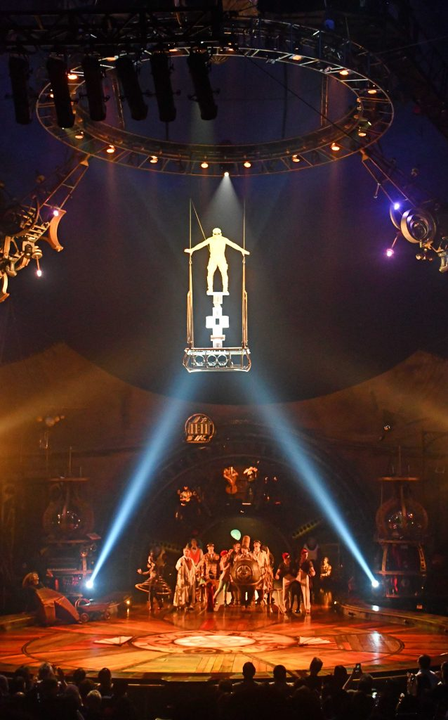 Kurios is in singapore