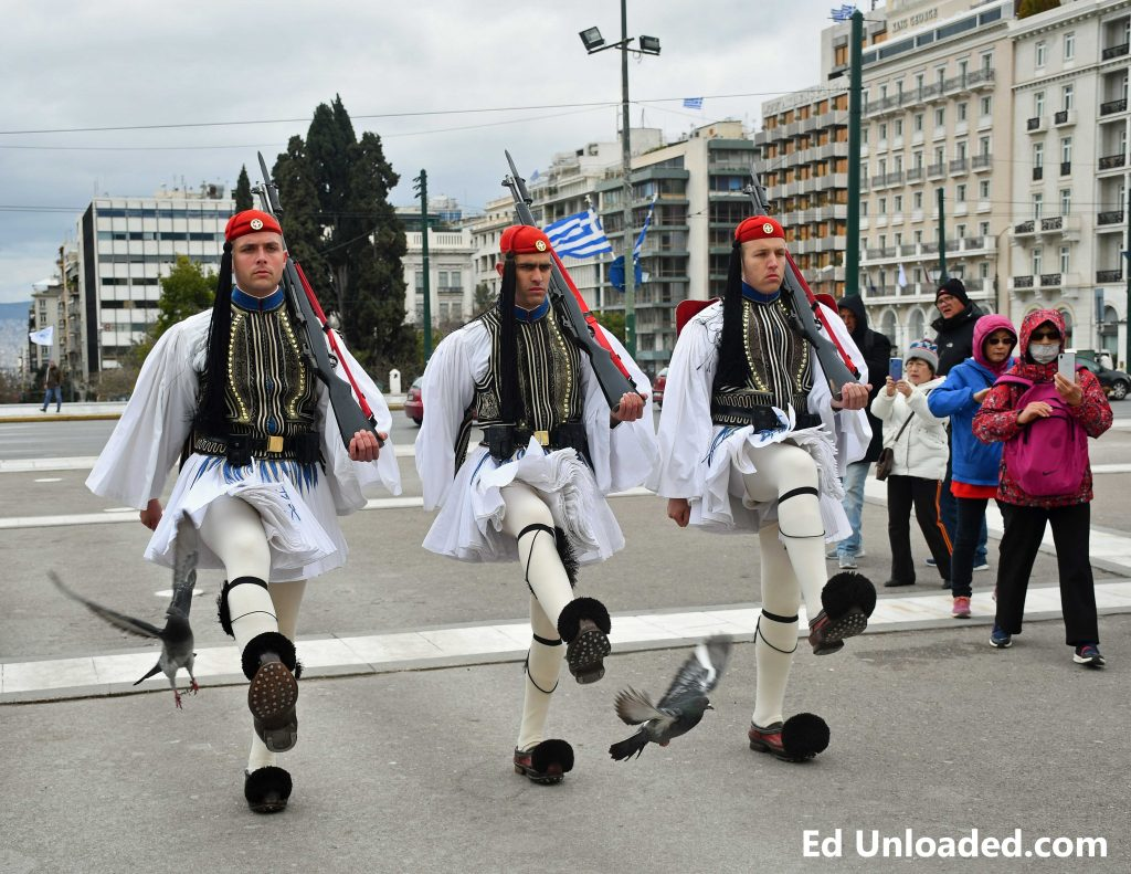 Greece changing of guard