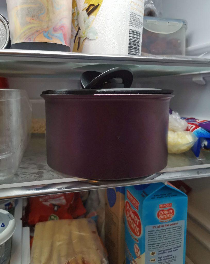 space saving pot